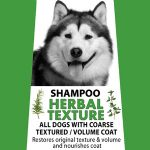 Herbal Texture Shampoo - for Coarse Harsh Coat